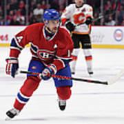 Calgary Flames V Montreal Canadiens Art Print
