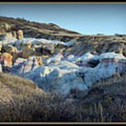 Calhan Paint Mines Landscape Art Print
