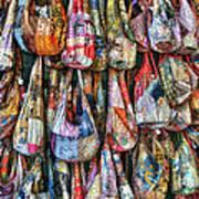Calico Bags Art Print