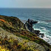 California - Big Sur 005 Print by Lance Vaughn