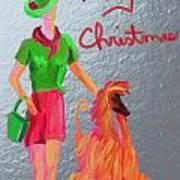 California Christmas Art Print