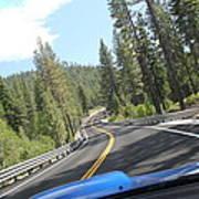 California Road Art Print