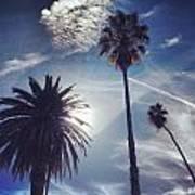 California Sky Art Print
