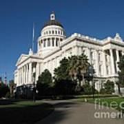 California State Capitol Art Print