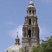 California Tower, Balboa Park, San Diego, California Art Print