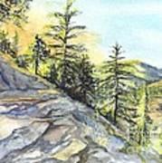 Californias Sierras Art Print