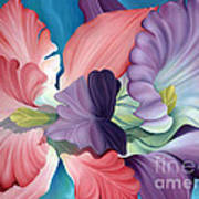 Call Of The Orchids Art Print