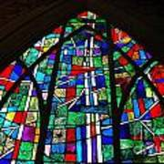 Callaway Gardens Chapel Stained Glass Art Print