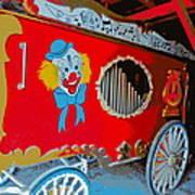 Calliope Wagon Art Print