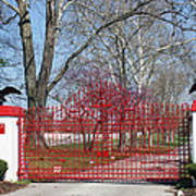 Calumet Farm Entrance Art Print