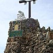 Calvary At Grotto Of Redemption Art Print