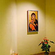 Camaldoli Monastery Prayer Room Art Print
