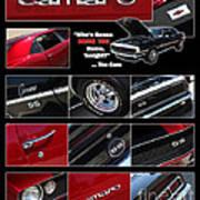 Camaro-drive - Poster Art Print