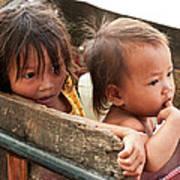 Cambodian Children 03 Art Print
