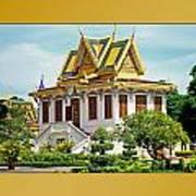 Cambodian Temples 1 Art Print