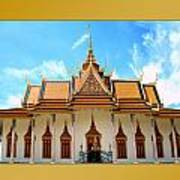 Cambodian Temples 2 Art Print