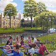 Cambridge Summer Art Print