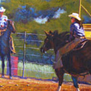 Camden Cowboy And Cowgirl Art Print