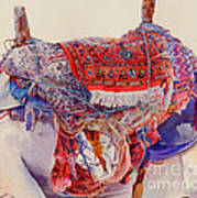 Camel Saddle Art Print