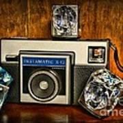 Camera - Kodak Instamatic Art Print