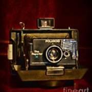Camera - Polaroid  The Reporter Se Art Print