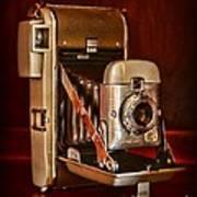 Camera - Vintage Polaroid Land Camera 80 Art Print
