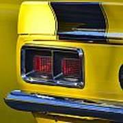 Camaro Taillight Art Print