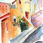 Camogli In Italy 01 Art Print