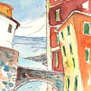 Camogli In Italy 04 Art Print