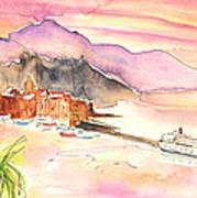 Camogli In Italy 06 Art Print