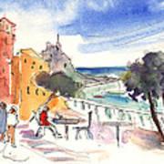 Camogli In Italy 08 Art Print