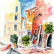 Camogli In Italy 13 Art Print