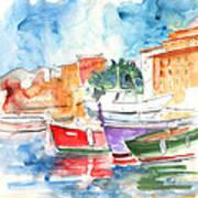 Camogli In Italy 14 Art Print