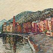 Camogli Art Print