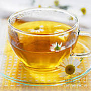 Chamomile Tea Art Print