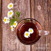 Camomile Tea Art Print by Jane Rix