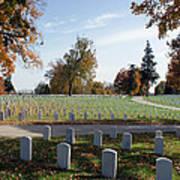 Camp Nelson National Cemetery Art Print