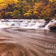 Campbell Falls In Autumn Art Print
