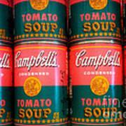 Campbell's Tomato Soup Pop Art Art Print
