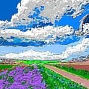 Campo En Primavera Art Print