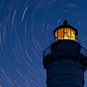 Cana Island Lighthouse Solstice Art Print