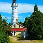Cana Island Wi Lighthouse Art Print