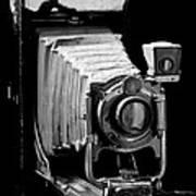 Canadian Kodak Black And White Camera Art Print