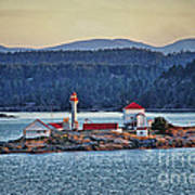 Canadian Lighthouses Sc3415-13 Art Print