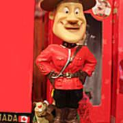 Canadian Mountie Art Print