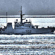 Canadian Navy Nanaimo M M702 Art Print