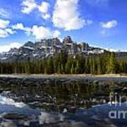 Canadian Rockies 8 Art Print