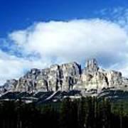 Canadian Rockies Art Print