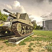 Canadian Tank  Art Print
