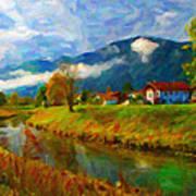 Canal 1 Art Print